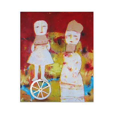 Circo - Painting by Jose Antonio Diazdel