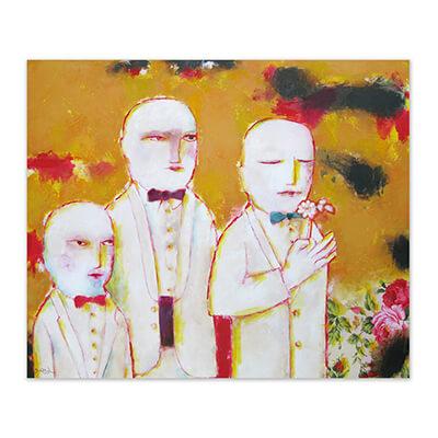 Perfumeros - painting by Jose Antonio Diazdel