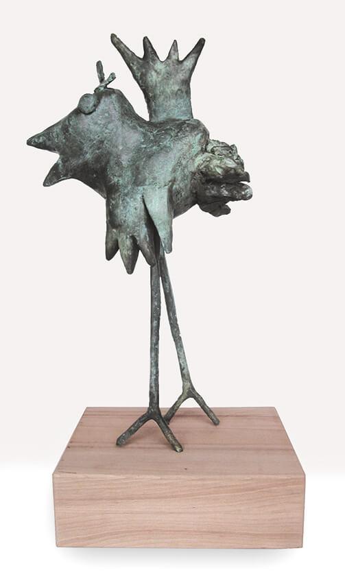Pájaro bronze Angeles Nieto
