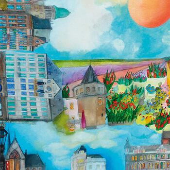 Susan Schildkamp - artist of AquArtisGallery Amsterdam
