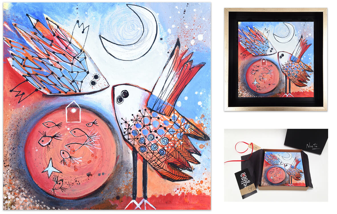 Feeling Good Art Collection Painting by Ángeles Nieto