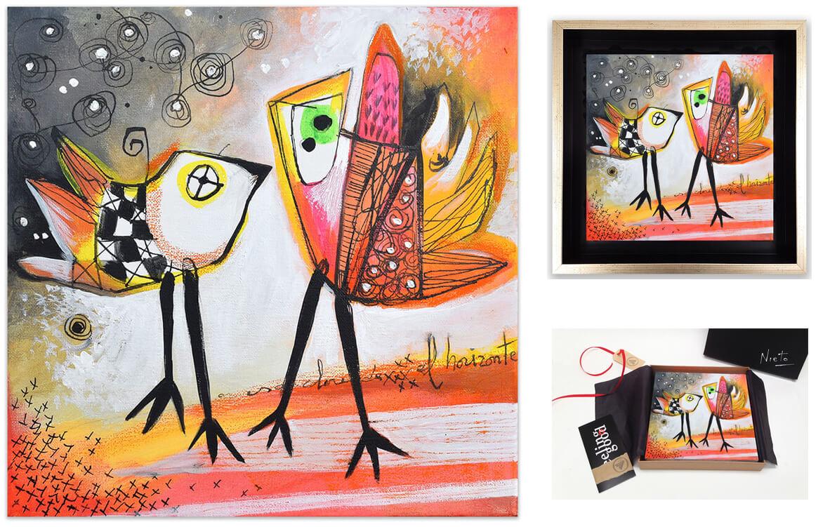 Painting - schilderij - Feeling Good Art Collection - Angeles Nieto - AquArtisGallery - Amsterdam